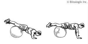 Chest Ball Exercises