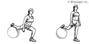 Legs Ball Exercises