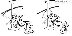 Abdominal Crossbow Exercises