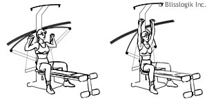 Crossbow exercises | by weight-training-exercises. Com.