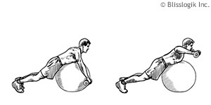 Ball Shoulder Exercises