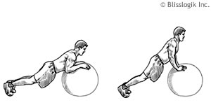 Ball Tricep Exercises